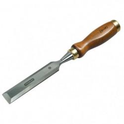 STANLEY Ciseau a bois manche bois 18mm