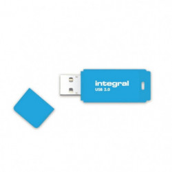 INTEGRAL Clé USB Neon Bleue usb 3.0 16 Go