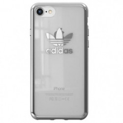 ADIDAS Coque Originals clear logo iPhone 7 Gris