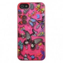 C-LACROIX Coque motif papillon Iphone 6 - Rose