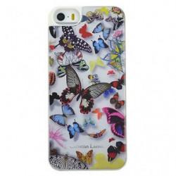 C-LACROIX Coque motif papillon Iphone 6 - Blanche