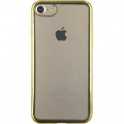 BIGBEN Coque pour Iphone 7 - Transparente - Contour doré