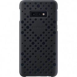 Samsung Coque perforée S10e - Noir & Vert