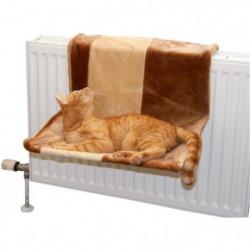 KERBL Hamac Paradies pour chat - 50x35cm - Brun et beige
