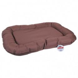 Coussin luxe Dogi 80x60 cm - Marron - Pour chien