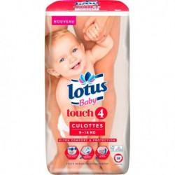 LOTUS BABY Touch 4 Culottes - De 9 a 14 kg - x38