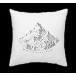 TODAY Coussin Chalet en coton - 40 x 40 cm - Winter Adventur