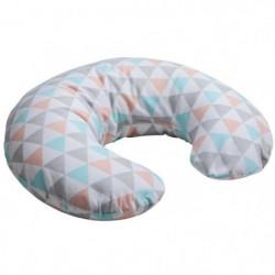 BABYCALIN Mini-coussin de maternité Coton - Géométrique et p