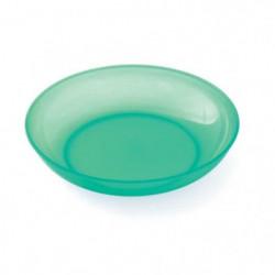 PLASTOREX Assiette micro-ondable Polypropylene 18,5 CM Vert 51489