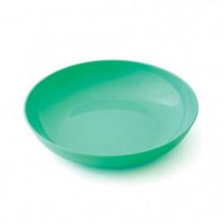 PLASTOREX Assiette Micro-Ondable Polypropylene 18,5 cm Vert 51490