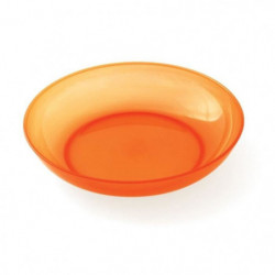PLASTOREX Assiette micro-ondable Polypropylene 18,5 CM Orang 51491