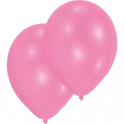 AMSCAN Lot de 10 Ballons en latex Premium 27,5 cm/11'' - Ros