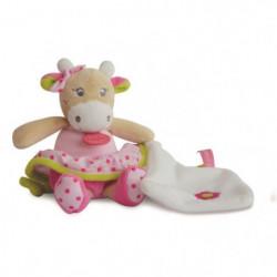BABY NAT Pantin avec Doudou Coquillette La Vache