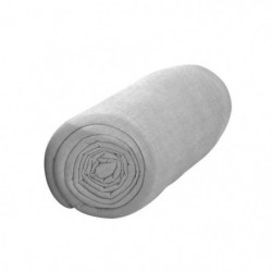 TODAY Drap housse 100% coton - 90 x190 cm - Zinc