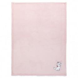 DISNEY Couverture bi-matiere Marie - Flanelle 100% polyester