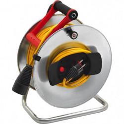 BRENNENSTUHL Enrouleur silver Jardi-500 50m H05VV-F 3G1.5