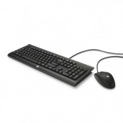 HP Pack clavier et souris noir C2500
