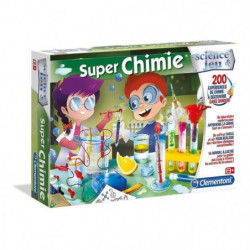 CLEMENTONI Science & Jeu - Super Chimie - Jeu scientifique