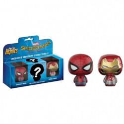 3 Figurines Funko Mystery Minis Marvel - Spider-Man: Spider-