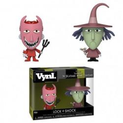 2 Figurines Funko Vynl Disney: L'Étrange Noël de M. Jack- Lo