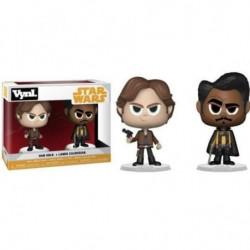 2 Figurines Funko Vynl Star Wars: Han Solo et Lando Calrissi