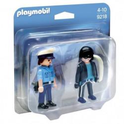 PLAYMOBIL 9218 - Duo Policier et Voleur