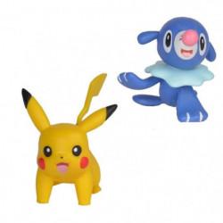 POKEMON - Pack de 2 figurines 5 cm Pikachu et Otaquin