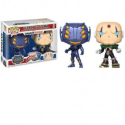 2 Figurines Funko Pop! Marvel VS Capcom : Ultron VS Sigma