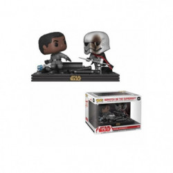 2 Figurines Funko Pop! Star Wars Movie Moments: The Last Jed