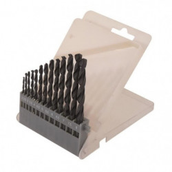 SMARTOOL Coffret de 13 forets métal ø 2-8 mm pour usage cour