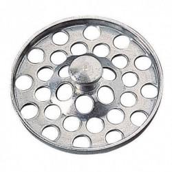 WIRQUIN Grille plate a poignée SP9239 - Ø 47 mm - Évier