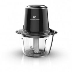 CONTINENTAL EDISON CEMH01 Mini hachoir bol en verre- Noir