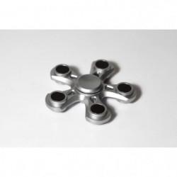 FINGER SPINNER Silver 5 Stars - Hand Spinner