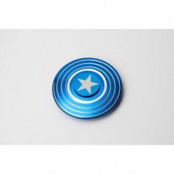 CAPTAIN AMERICA - Finger Spinner American Shield Bleu - Hand