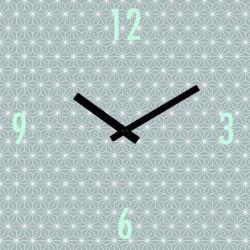 ARTIS Horloge en verre Moment'Art 30 x 30 cm Graphic motifs
