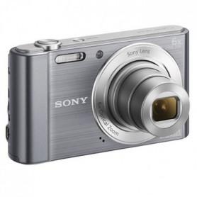 SONY DSC-W810 Compact Gris - CCD 20 MP Zoom 6x