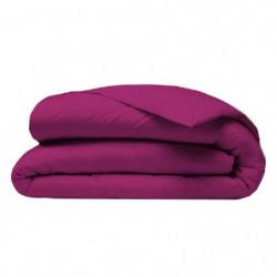 COTE DECO Housse de couette 140x200 cm - Violet