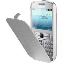 ANYMODE Etui Samsung pour CHAT 357 S3570 - Blanc