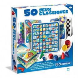 CLEMENTONI - 50 jeux classiques - Jeu de société