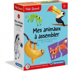 CLEMENTONI Petit Savant - Mes animaux a assembler - 2 ans et