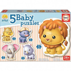 EDUCA Baby Puzzles Animaux