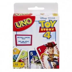 UNO - Toy Story 4 - Jeu de Cartes Famille aux couleurs du fi