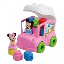 CLEMENTONI Clemmy - Le Bus de Minnie - Cubes souples
