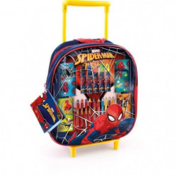 CANAL TOYS - SPIDERMAN - Trolley de Coloriage - Loisirs Créa