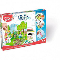MAPED CREATIV - Color&Play - Mon Jardin à Créer