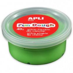 APLI Pâte a modeler Fun Dough - 40 g - Vert clair