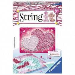 STRING IT mini Heart Suivez La tendance du String Art ! Rave