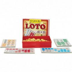 FERRIOT CRIC  Coffret Loto 90 Pions  48 Cartes