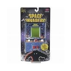 BASIC FUN Jeu mini arcade Space Invaders