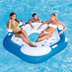 BESTWAY Matelas adulte piscine île Gonflable pentagone 191cm